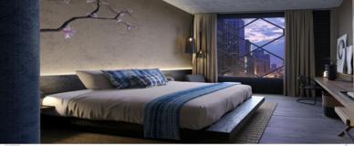 Nobu Chicago Guestroom 388 x 160